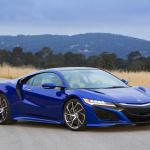 次期NSXにカーボンオプション設定、アメリカで先行フォトデビュー - 2016_Acura_NSX_in_Nouvelle_Blue