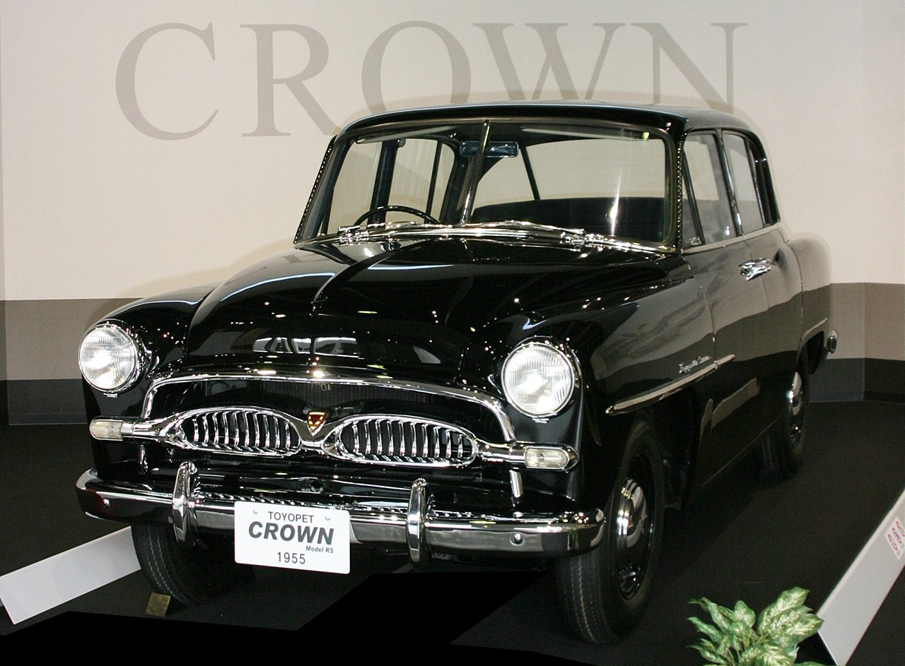 ň�代クラウンを石川トヨタが創立70周年記念で復刻! Clicccar Com Â�リッカー