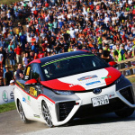 国沢光宏「MIRAI」WRC完走! 大ジャンプで水素FCV技術と耐久性を実証!!【動画】 - TOYOTA_MIRAI