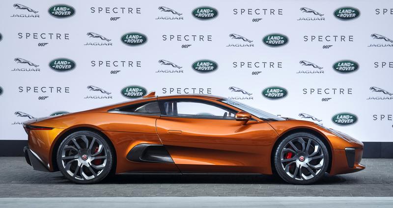 「007」シリーズ最新作に登場するジャガー「CX75」などを世界初公開【フランクフルトショー2015】 | JLR