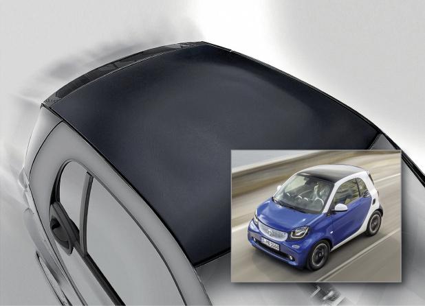 Basfが新素材の自動車用ルーフを開発~小型車スマートに供給~ Clicccar Com クリッカー