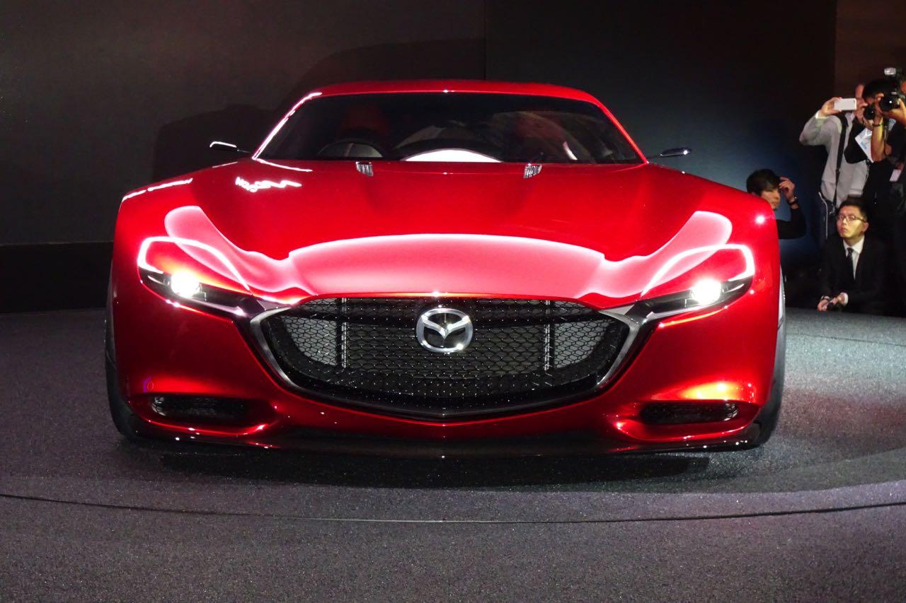 【東京モーターショー15】マツダ「RX-VISION」画像ギャラリー ─ 復活ロータリーへのビジョンを体現 ...