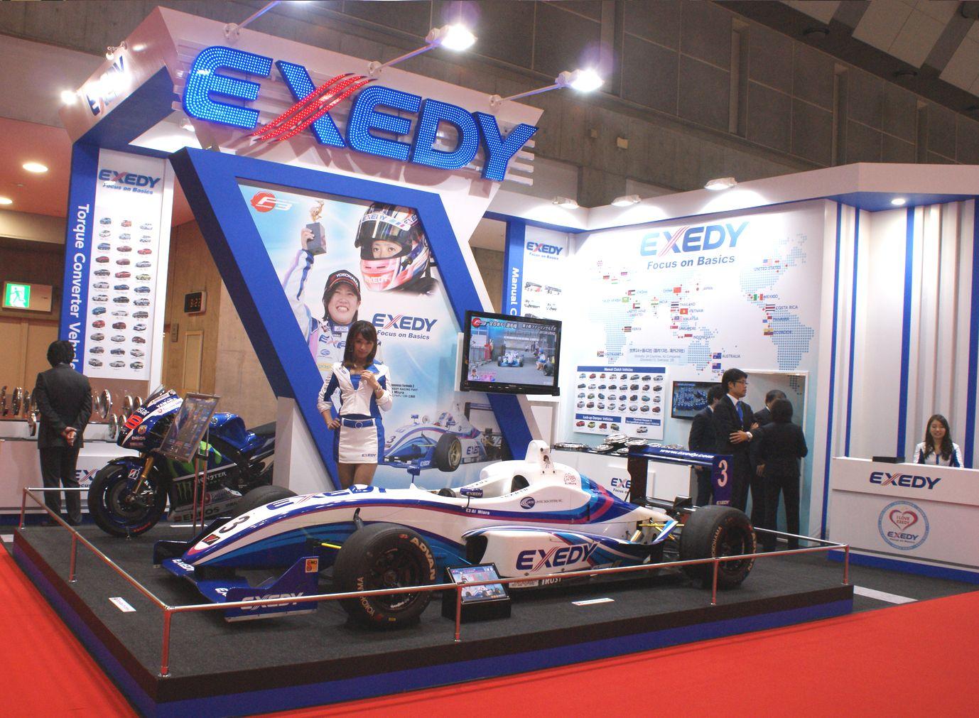 「【東京モーターショー15】エクセディ、多種多様な駆動系技術でアピール」の1枚目の画像