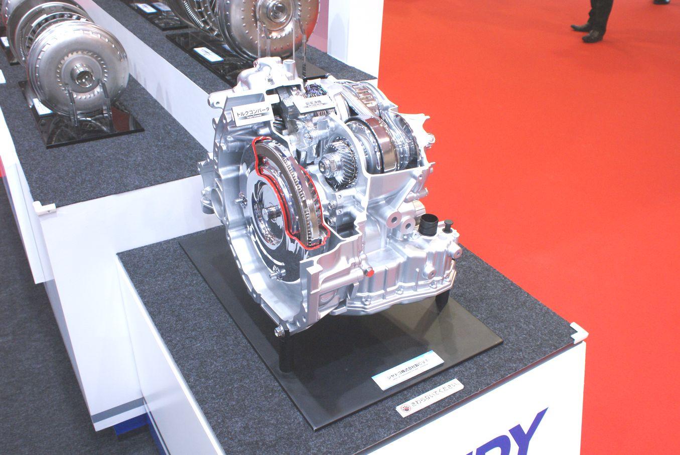 「【東京モーターショー15】エクセディ、多種多様な駆動系技術でアピール」の10枚目の画像
