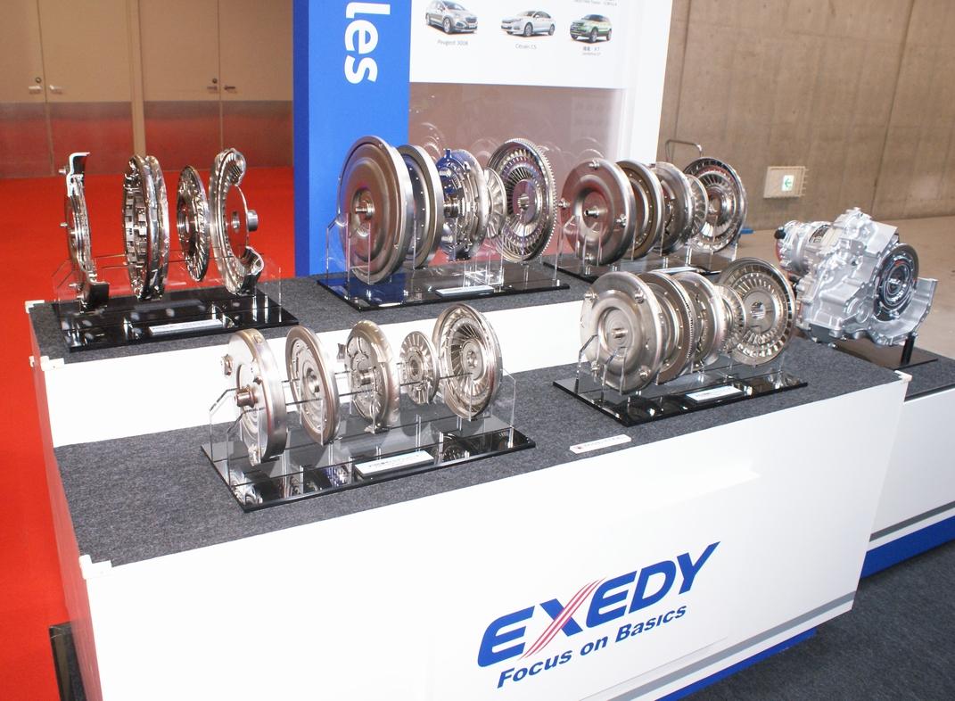 「【東京モーターショー15】エクセディ、多種多様な駆動系技術でアピール」の16枚目の画像