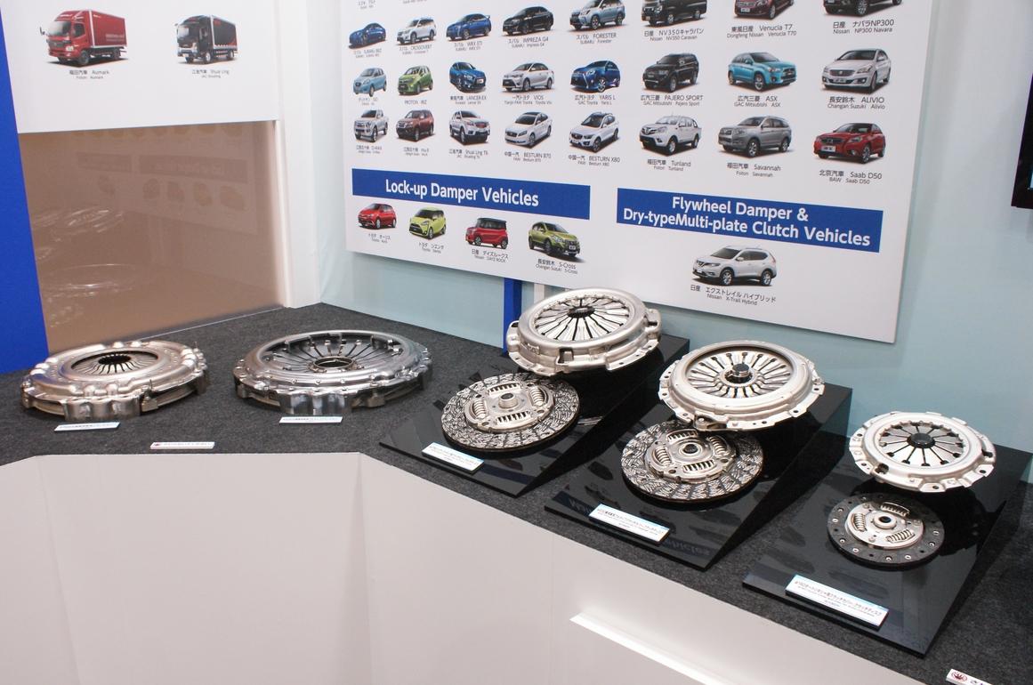 「【東京モーターショー15】エクセディ、多種多様な駆動系技術でアピール」の13枚目の画像