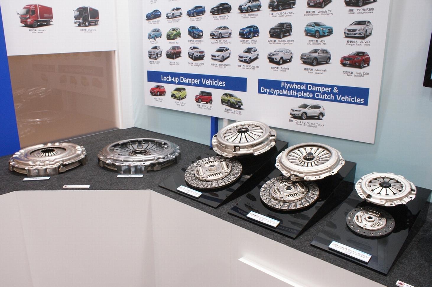 「【東京モーターショー15】エクセディ、多種多様な駆動系技術でアピール」の14枚目の画像