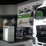【東京モーターショー15】いすゞは、持続可能な大型トラックへ天然ガス車を提案 - Isuzu_TMS4401