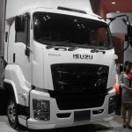 【東京モーターショー15】いすゞは、持続可能な大型トラックへ天然ガス車を提案 - Isuzu_TMS4403