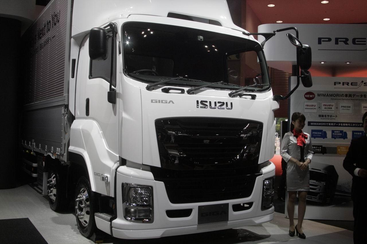 「【東京モーターショー15】いすゞは、持続可能な大型トラックへ天然ガス車を提案」の3枚目の画像