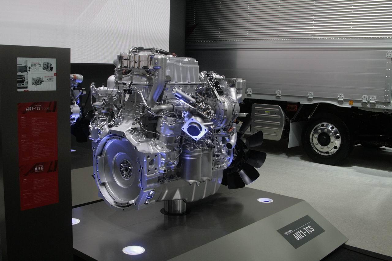 「【東京モーターショー15】いすゞは、持続可能な大型トラックへ天然ガス車を提案」の4枚目の画像