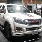 【東京モーターショー15】いすゞは、持続可能な大型トラックへ天然ガス車を提案 - Isuzu_TMS4406