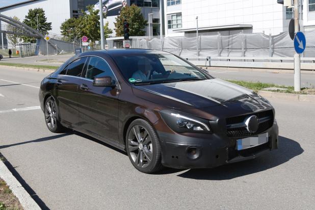 Mercedes CLA Facelift 2