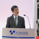 【東京モーターショー15】豊田自動織機は新型プリウスの4WD車に搭載されるリア走行インバーターを出品 - PHOTO_032