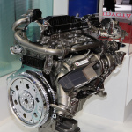【東京モーターショー15】豊田自動織機は新型プリウスの4WD車に搭載されるリア走行インバーターを出品 - PHOTO_053