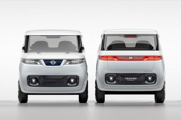 【東京モーターショー15】日産の軽自動車EV「TEATRO for DAYZ」はクルマというより若者向けガジェット ...