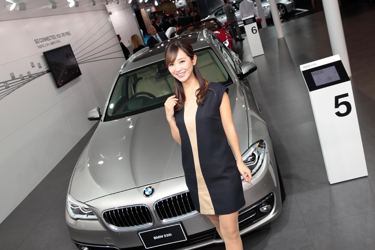 「【東京モーターショー15】厳選美女! BMWブースには、クリッカー賞2014に輝いたあの人がッ!」の6枚目の画像