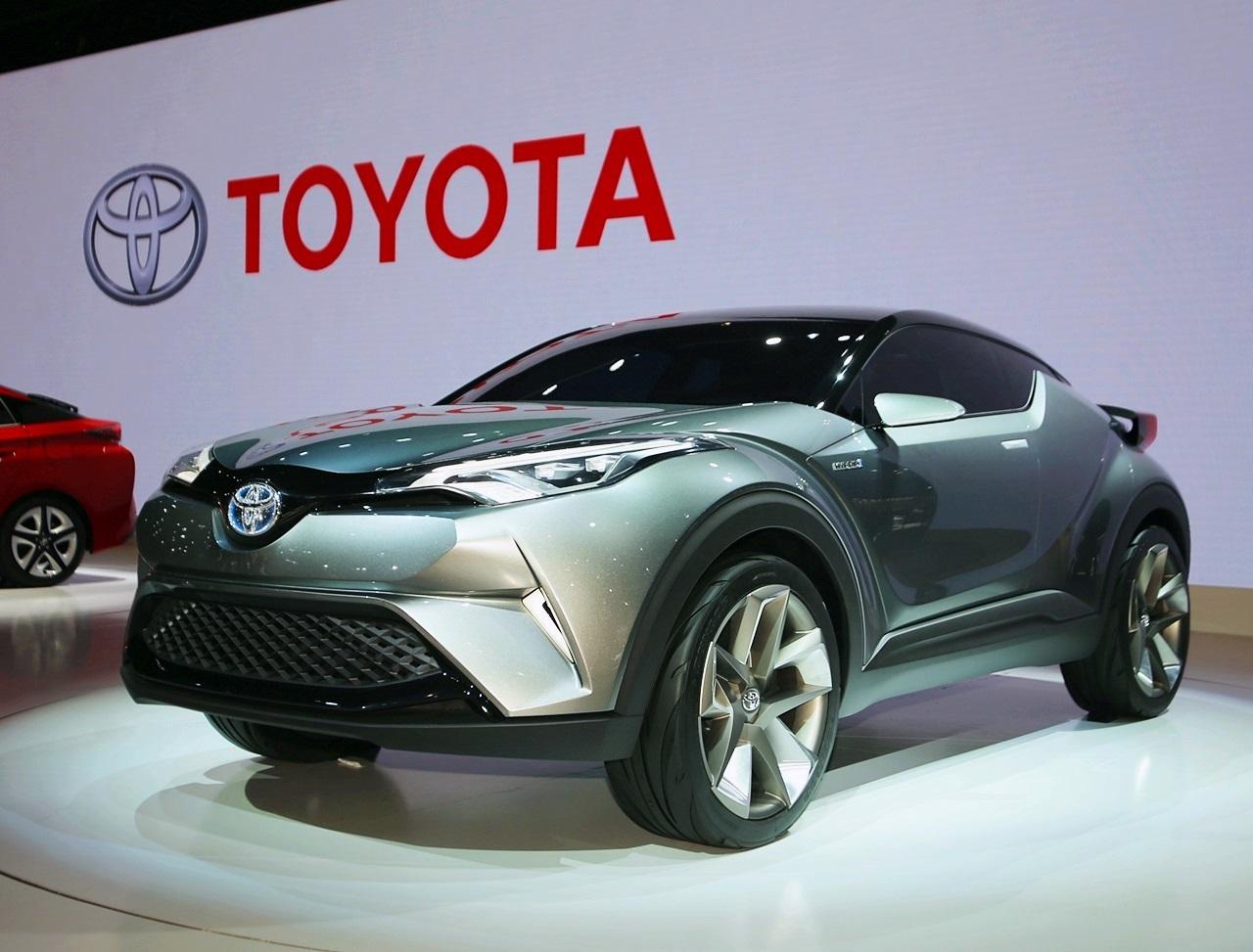 3月登場のトヨタ「c Hr」市販モデルはrav4後継車か | Toyota C Hr Clicccar Com
