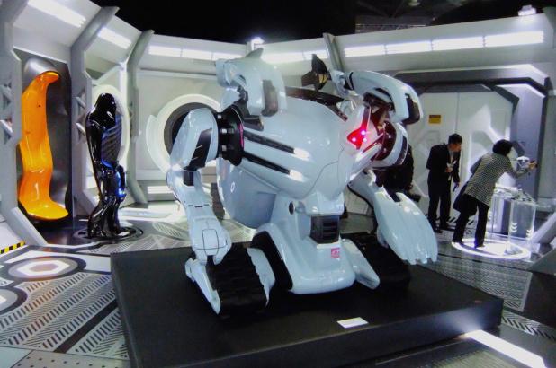 土地汚染浄化ロボット