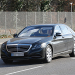 ベンツSクラス改良型を捕捉、新エンジン搭載か!? - Mercedes S-Klasse Facelift 1