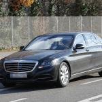 ベンツSクラス改良型を捕捉、新エンジン搭載か!? - Mercedes S-Klasse Facelift 2