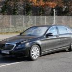 ベンツSクラス改良型を捕捉、新エンジン搭載か!? - Mercedes S-Klasse Facelift 3