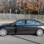 ベンツSクラス改良型を捕捉、新エンジン搭載か!? - Mercedes S-Klasse Facelift 4