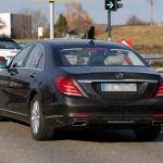 ベンツSクラス改良型を捕捉、新エンジン搭載か!? - Mercedes S-Klasse Facelift 6