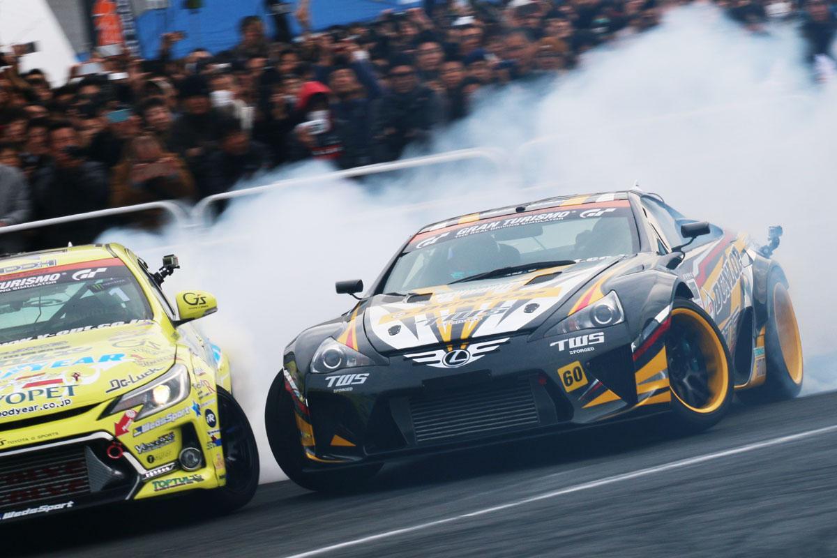 「【東京オートサロン2016】GT-RにレクサスLFA!ドリフトもスーパーカーが主役か?」の13枚目の画像