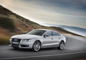 Audi A5 Sportback/Fahraufname