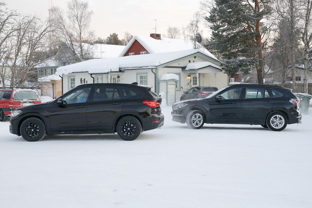 「BMW7人乗り「X1」、ノーマルモデルと並べてみたら…」の1枚目の画像