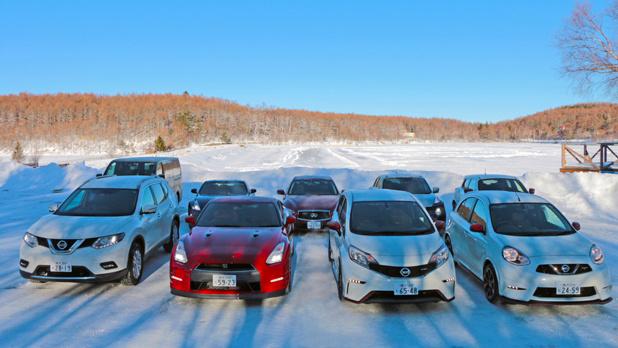 雪上試乗・日産の4WD車なら雪道で壁ドンの恐怖なし!?