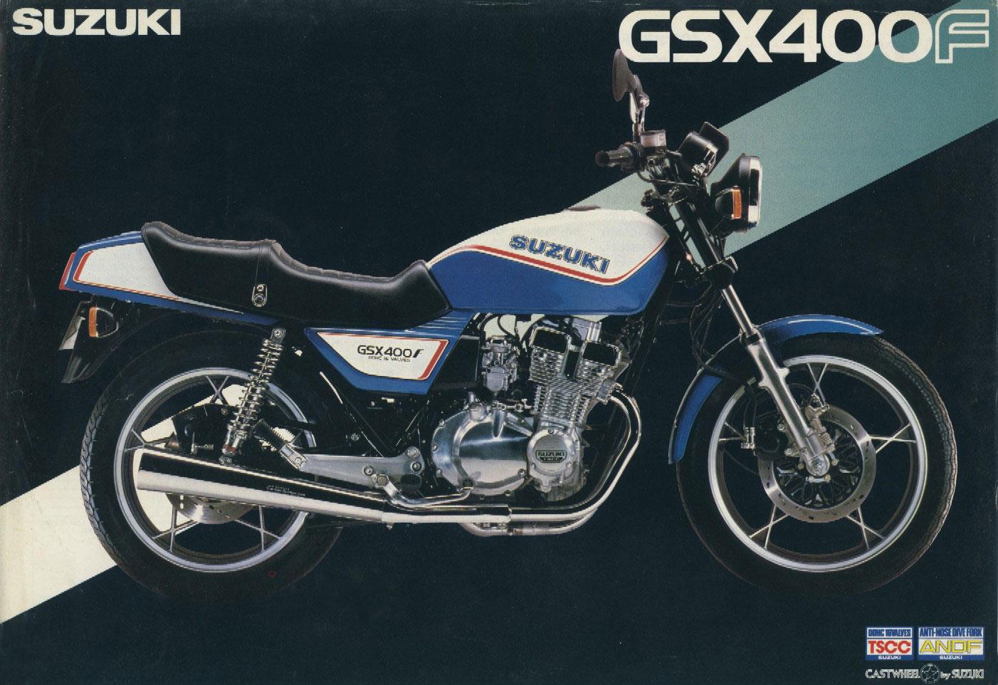 画像|【80年代グラフィティ400・その4】SUZUKI GSX400F | clicccar.com