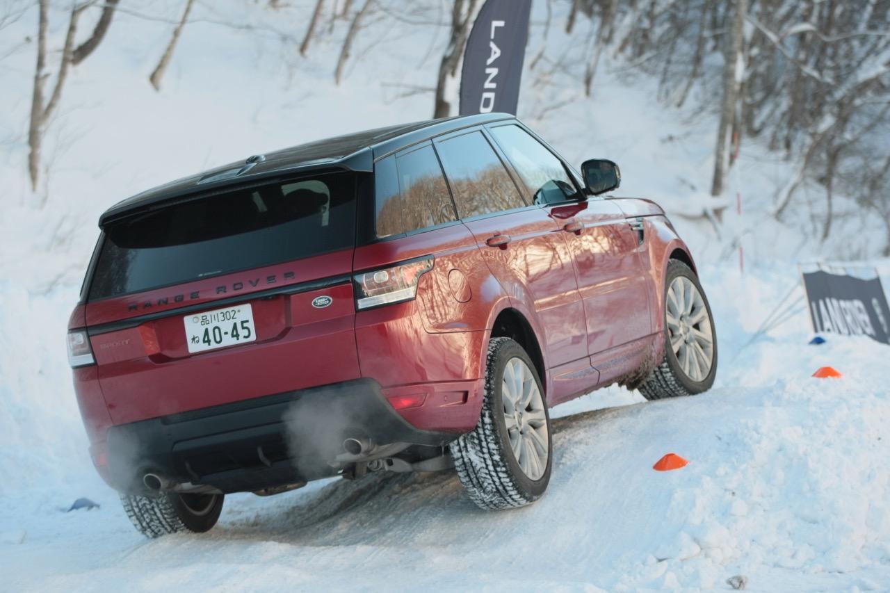 「レンジローバー・スポーツは雪上でも万能ぶりを見せつけるか」の3枚目の画像