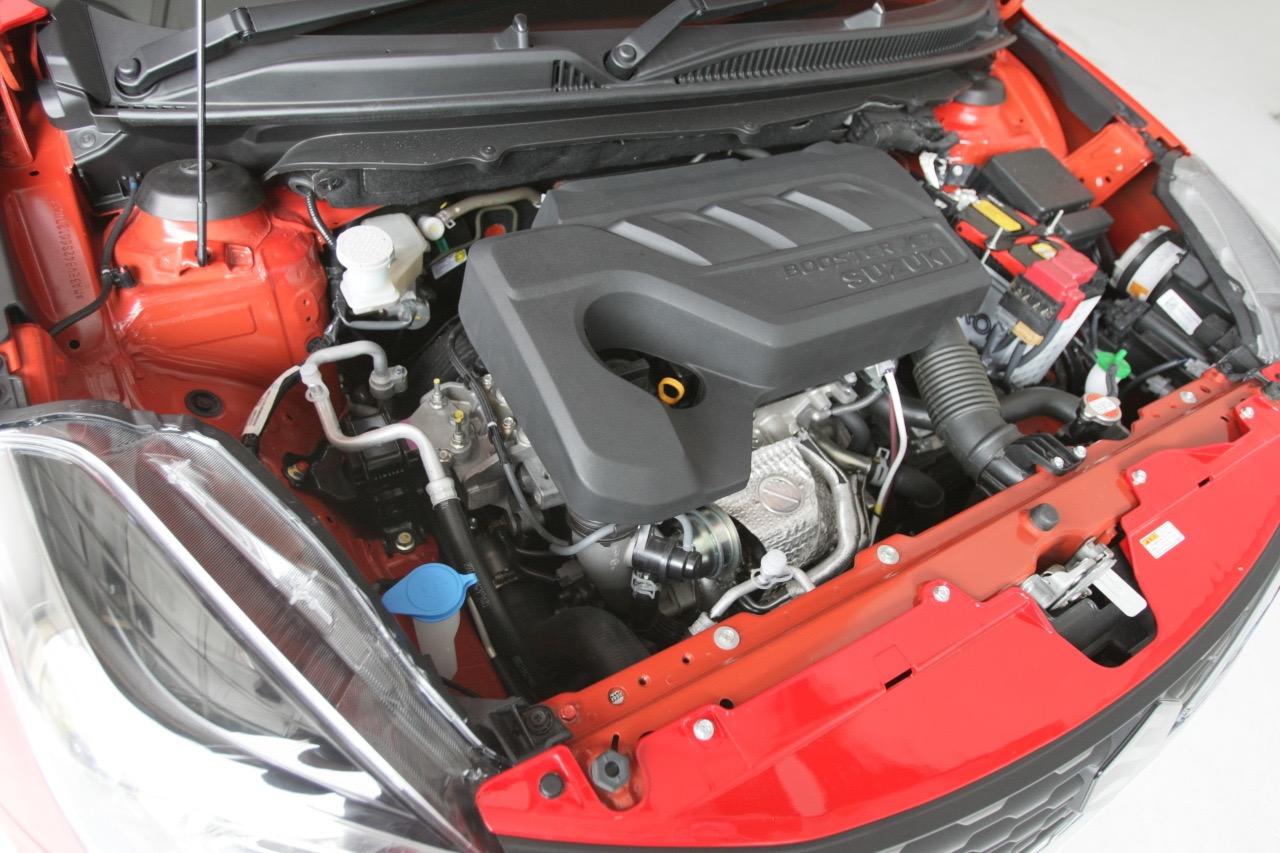 「新開発の車体と1.0L直噴ターボによる渾身作 ─ スズキ「バレーノ」画像ギャラリー」の3枚目の画像
