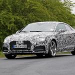 新型アウディ・A5の公開直前に、最強モデル「RS5」が出現! - Spy-Photo