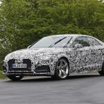 新型アウディ・A5の公開直前に、最強モデル「RS5」が出現! -