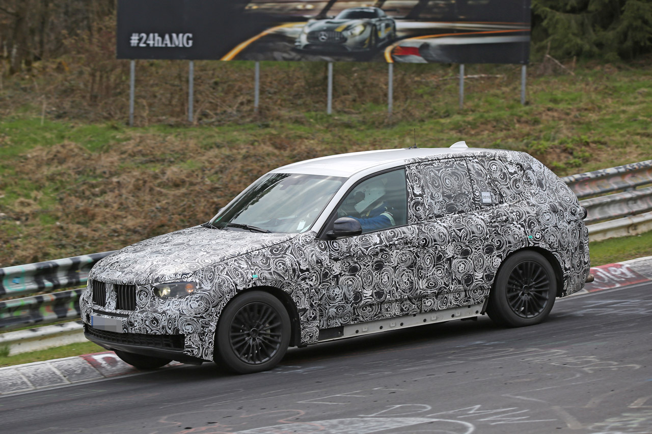 「BMW・X5次期型、ニュルで高速アタック!」の3枚目の画像