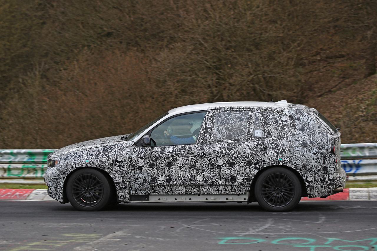「BMW・X5次期型、ニュルで高速アタック!」の4枚目の画像