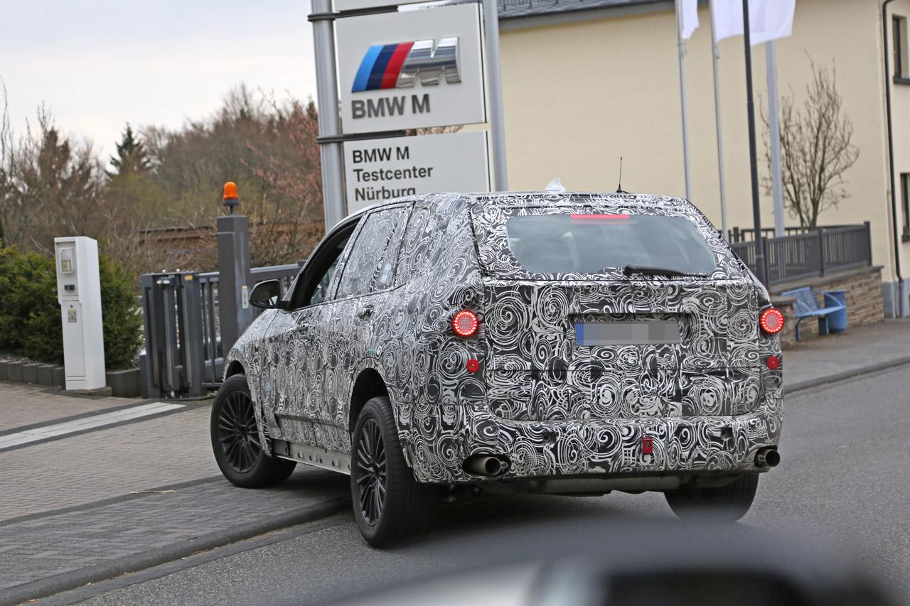 「BMW・X5次期型、ニュルで高速アタック!」の8枚目の画像