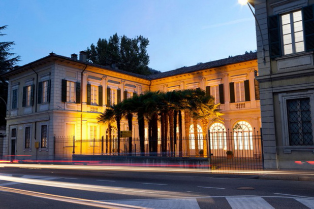 1. イタリア・コモ湖畔の17世紀建築の館がメルセデス-ベンツ先進デザイン・スタジオ。