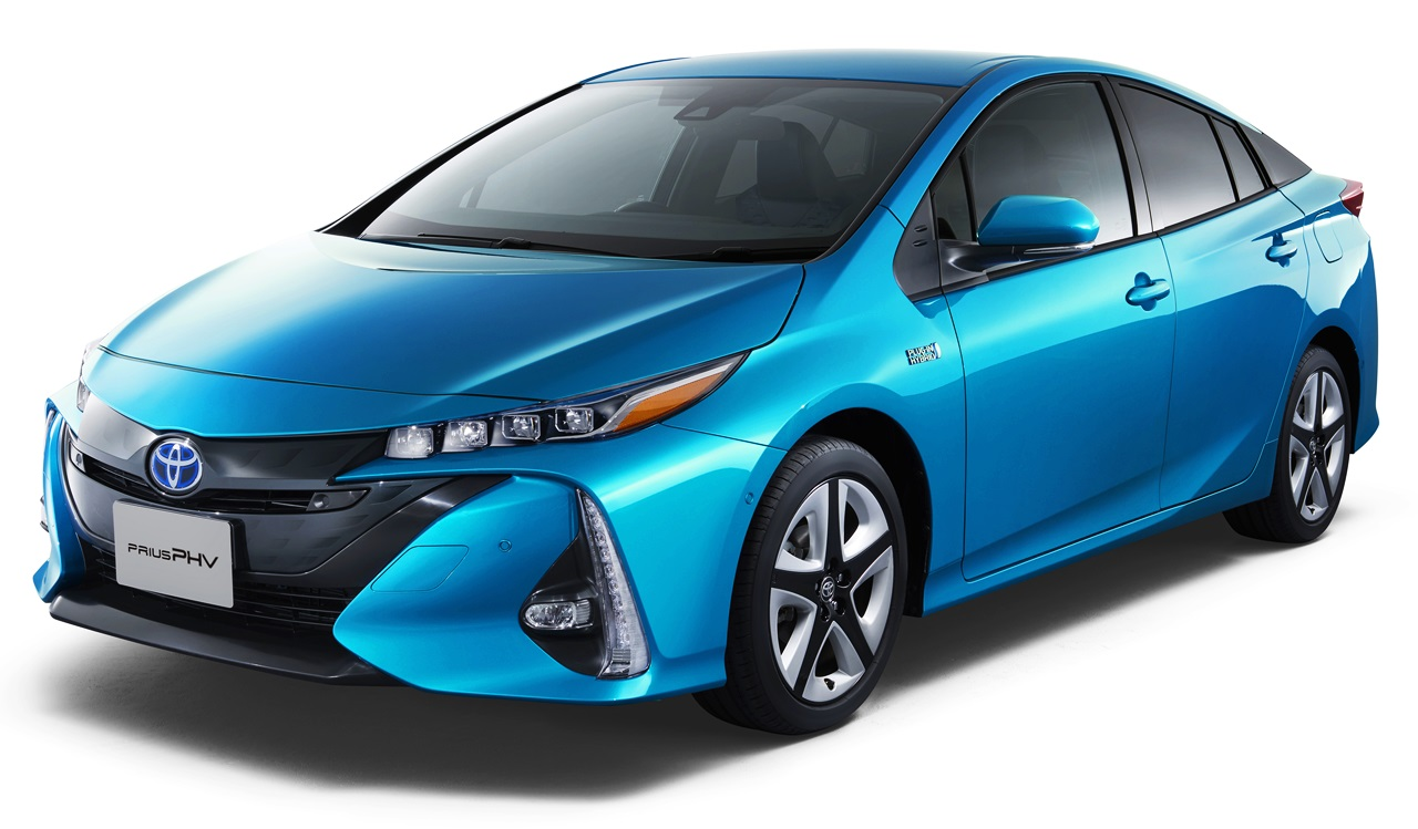Ɩ�型「トヨタ Ã�リウスphv」次世代環境車のスタンダードへ!【動画】 Ͻ� Toyota Prius Phv
