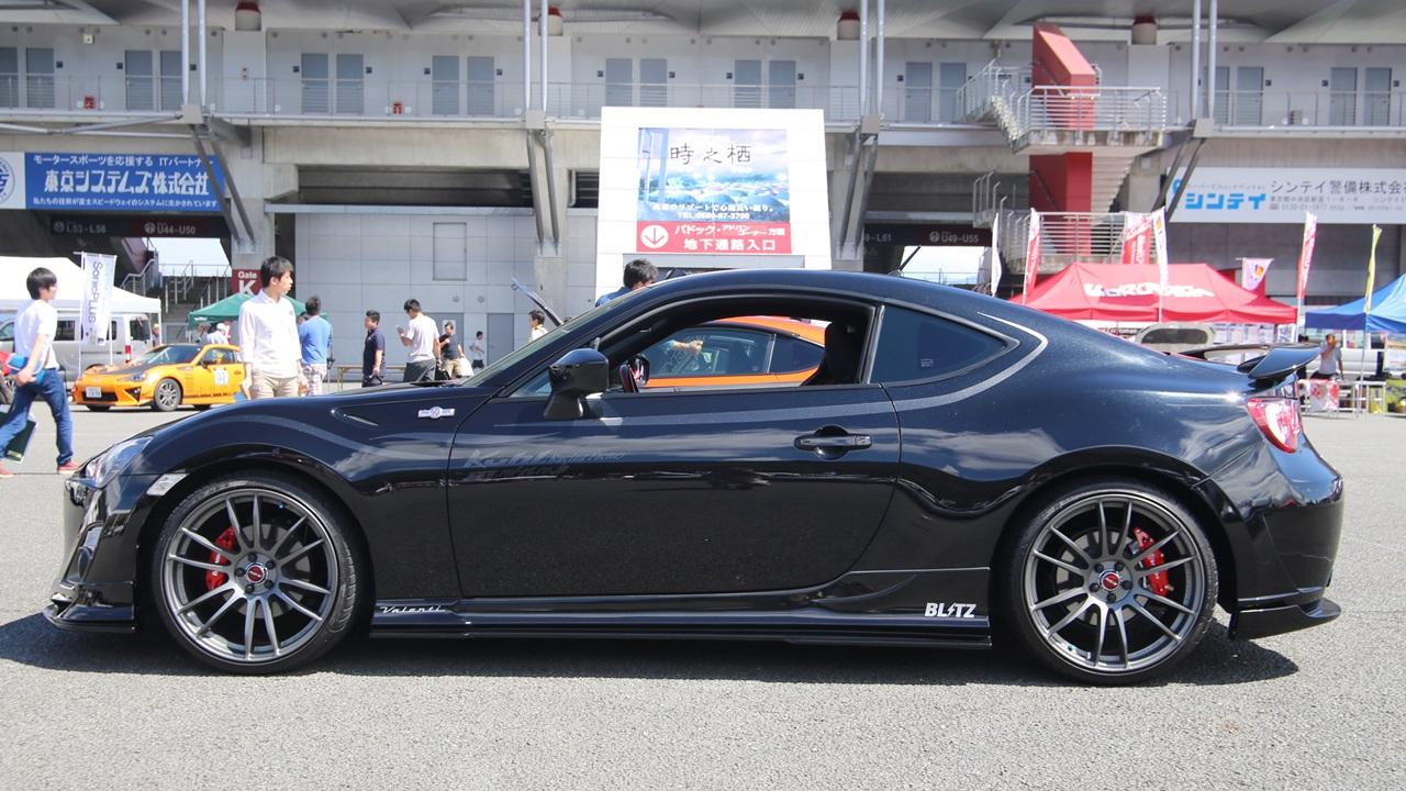 厳選 「fuji 86style」で見かけた素敵な86/brzカスタマイズ車たち | Fuji 86style 04 Clicccar Com クリッカー