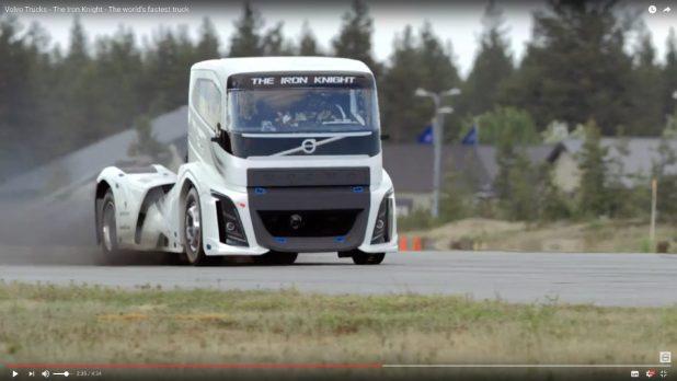 ボルボ・トラックがスピード記録を樹立!でも……【動画】