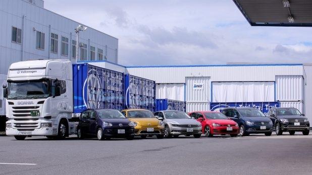カフェも併設! フォルクスワーゲンの移動式ショールーム&試乗車が全国20の商業施設に来る!! PR