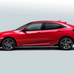 All-new 2017 Civic hatchback