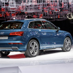 The new Audi Q5, Paris Motor Show 2016