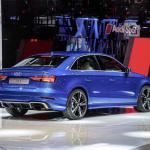400hp/480Nmを誇るアウディRS3セダンがデビュー【パリモーターショー16】 - The new Audi RS 3 Sedan, Paris Motor Show 2016