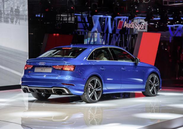 The new Audi RS 3 Sedan, Paris Motor Show 2016