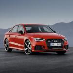 400hp/480Nmを誇るアウディRS3セダンがデビュー【パリモーターショー16】 - Audi RS 3 Sedan